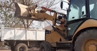 إزالة 20 حالة تعدى وتوزيع 38 ألف و38 طن أسمدة بكفر الشيخ والمنيا