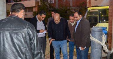 صور.. نائب محافظ الإسكندرية يشدد على إنهاء تطهير الشبكات ومحطة رفع أبيس