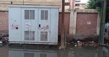 قارئ يشكو من انتشار مياه الصرف الصحى بقرية عياش محافظة الغربية