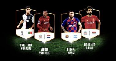 محمد صلاح خارج تشكيل أوروبا المثالى فى 2019 وتواجد 5 نجوم من ليفربول