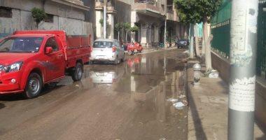 ماسورة مياه مكسورة.. شكوى سكان المحلة الكبرى محافظة الغربية