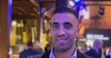 عبد الرزاق حمد الله مهاجم النصر يخطف الأنظار في حفل جلوب سوكر