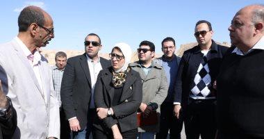 وزيرة الصحة: تسجيل 30 ألف مواطن بمنظومة التأمين الصحى الشامل بجنوب سيناء
