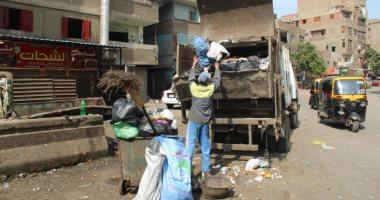 صور.. حملات لرفع القمامة ببولاق الدكرور.. وغلق سنتر تعليمى مخالف بالهرم