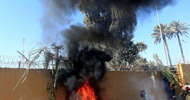 منظومة الباتريوت تصد صاروخاً استهدف السفارة الأمريكية فى بغداد