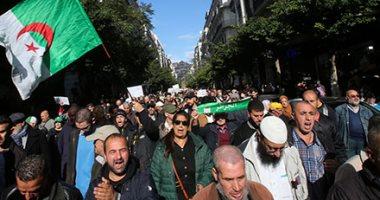 مظاهرة مناهضة للحكومة الجزائرية فى العاصمة الجزائر