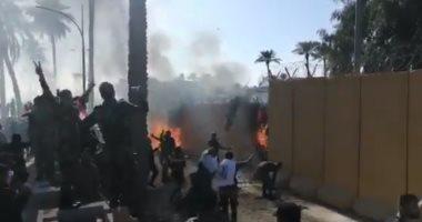 واشنطن تعبر عن غضبها إزاء هجوم صاروخى فى بغداد