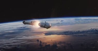 SpaceX تنشر محاكاة لأول مهمة لكبسولة نقل الرواد إلى محطة الفضاء 2020