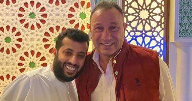 محمود الخطيب وتركى آل الشيخ