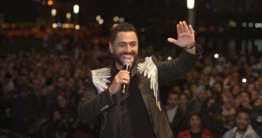 تامر حسني يحيي حفلا غنائيا في السعودية اليوم