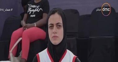 بعد تلقيبها بكليوباترا.. ثريا محمد لاعبة كرة السلة: الاحتراف حلم أى لاعب