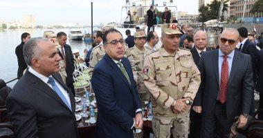 صور.. رئيس الوزراء يتفقد مشروع ممشى أهل مصر على النيل