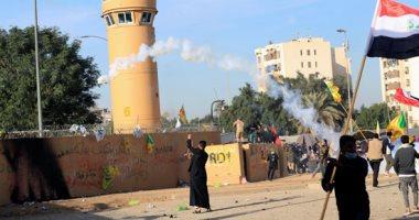 استهداف عجلة محملة بمواد لوجستية تابعة للسفارة الأمريكية فى العراق