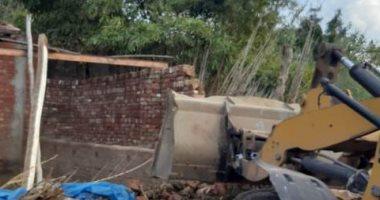 زراعة المنوفية: إزالة 49 حالة تعدٍ على الأراضى الزراعية خلال ديسمبر