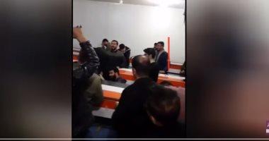 فيديو .. المشاهد الأولى لنقل جثمان قاسم سليمانى قائد فيلق القدس الايرانى
