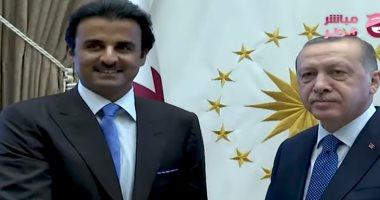 مباشر قطر: أردوغان وتميم لديهما خطة محكمة لاستمرار تدفع الأسلحة إلى ليبيا