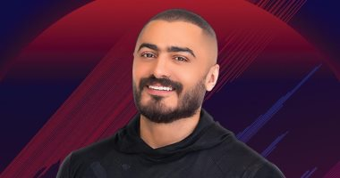 """تامر حسنى يبدأ حفل عيد الفطر بأغنية """"الأصل مصرى"""""""