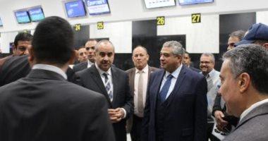 وزير الطيران يتفقد مطار شرم الشيخ للاطمئنان على الحركة الجوية وانتظام الرحلات