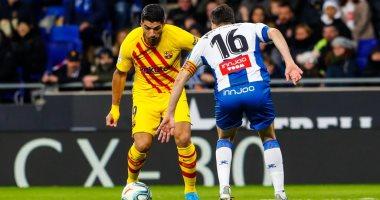 ملخص وأهداف مباراة اسبانيول ضد برشلونة 2-2 فى الدورى الإسبانى