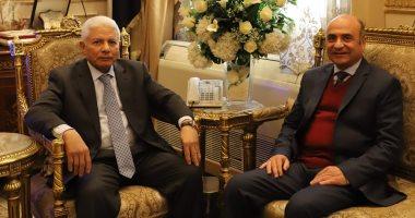 وزير العدل يزور مجلس القضاء الأعلى ويجتمع مع أعضائه