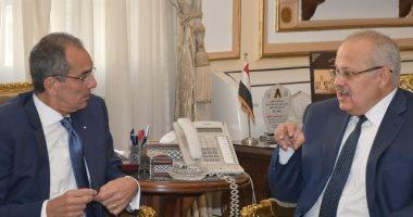 تعاون بين جامعة القاهرة ووزارة الاتصالات لإنشاء مجمع للإبداع التكنولوجى