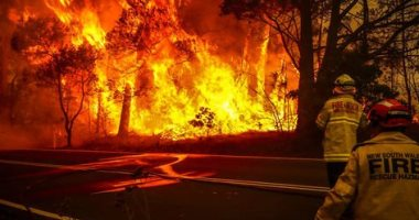 اليابان تساهم فى مكافحة حرائق الغابات بأستراليا