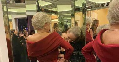 التواضع نعمة..ميريل ستريب تنسق فستان هيلان ميران بـ Golden Globes 2020