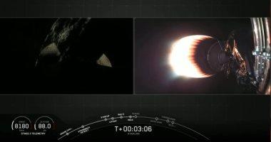 SpaceX تطلق 60 قمرا صناعيا جديدا لنشر الإنترنت الفضائى.. صور