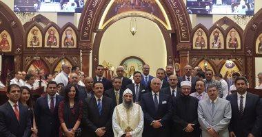 سفير مصر فى مسقط يشارك فى قداس عيد الميلاد المجيد فى الكنيسة المصرية