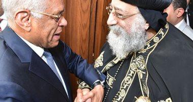 أخبار السياسة اليوم.. رئيس البرلمان من الكاتدرائية: مصر ستظل مصدرا للخير والنور