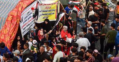 تفاصيل إطلاق حزب الله العراقى النار على المتظاهرين بساحة الناصرية