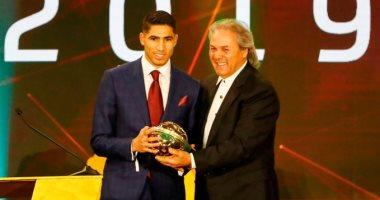 أشرف حكيمى: أفضل لاعب شاب دافع كبير لتحقيق الجائزة الكبرى