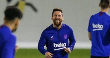 برشلونة ضد أتلتيكو مدريد.. البارسا ينهى تدريباته قبل موقعة السوبر الإسباني