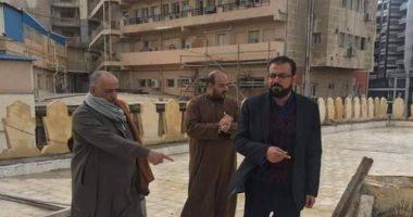 وكيل أوقاف الإسكندرية يتابع تصريف مياه الأمطار من المساجد