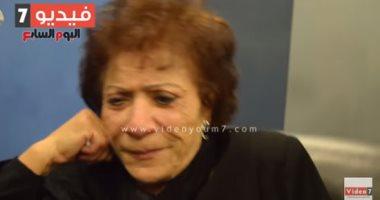 فيديو.. ظهور مؤثر للفنانة عايدة عبد العزيز قبل إصابتها بالزهايمر