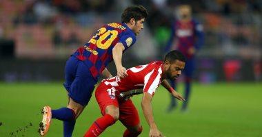 """برشلونة ضد أتليتكو مدريد.. تقنية """"عين الصقر"""" تظهر للمرة الأولى فى السعودية """"فيديو"""""""