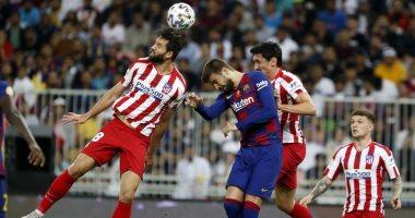 أتلتيكو مدريد يعلن جاهزية مدافعه قبل مواجهة ليفربول فى أبطال أوروبا