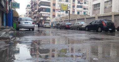 سقوط أمطار غزيرة فى بورسعيد وبورفؤاد.. والأحياء ترفع درجة الاستعداد
