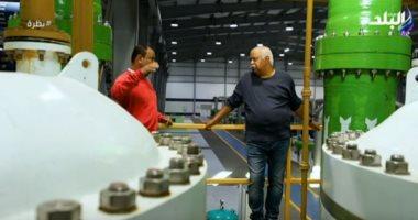 مدير محطة تحليلة الجلالة: 150 ألف متر مكعب طاقة الإنتاج اليومية .. فيديو