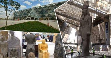 إنجاز جديد.. تسجيل 53 ألف قطعة أثرية على قاعدة بيانات المتحف المصرى الكبير