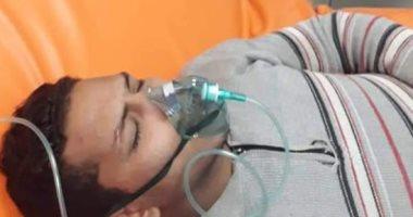 صور.. مستشفى زفتى تستقبل أسرة كاملة مصابة باختناق بسبب نيران التدفئة