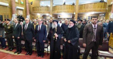 صور.. محافظ كفرالشيخ يشهد مراسم مئوية تأسيس كنيسة مار جرجس بدسوق