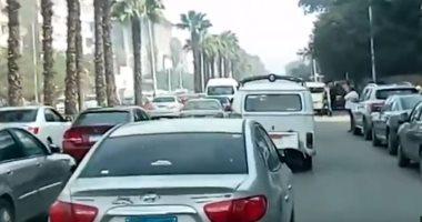 المرور يغلق شارع الهرم جزئيا يومان بسبب أعمال المترو