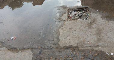 شكوى من ماسورة مياه مكسورة بسوق مجاورة 30  فى مدينة 15 مايو