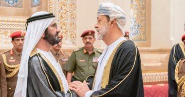 الشيخ محمد بن راشد يقدم واجب العزاء فى وفاة السلطان قابوس.. صور