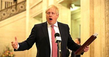 عروض أضواء و احتفالات لحظة خروج بريطانيا من الاتحاد الأوروبى