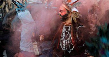 تقاليع غريبة فى كرنفال القديس فاسيلى بمقدونيا