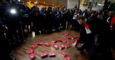 محاميو فرنسا يشاركون فى الإضراب بمدينة ليون