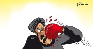 كاريكاتير صحيفة سعودية.. ضربات إيران الانتقامية بدون نتائج