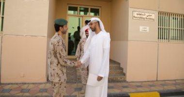 صور وفيديو.. وزير الذكاء الاصطناعى الإماراتى يلتحق بالخدمة الوطنية